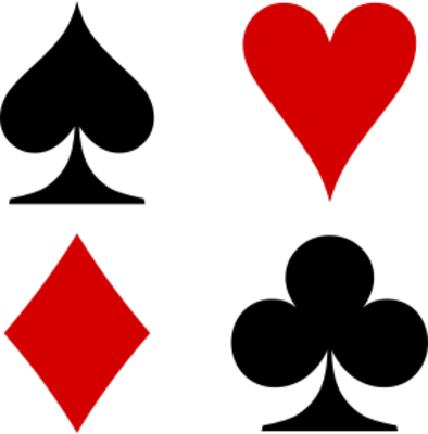 Spades,Clubs,Diamonds, and Hearts | PSD Detail