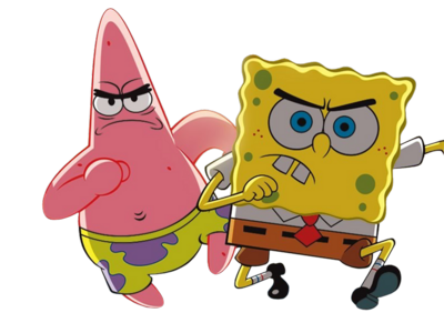 SpongeBob and Patrick PSD. Filesize: 2.80 MB. Downloads: 432