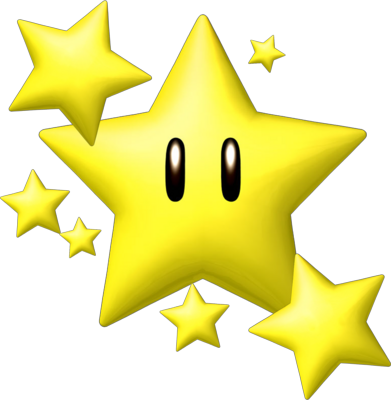 PSD Detail | Super Mario ( Star ) | Official PSDs