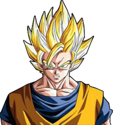 Magnificent Psd Detail Super Saiyan Goku Official Psds Short Hairstyles Gunalazisus