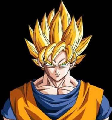 Psd Detail Super Sayian Goku Official Psds