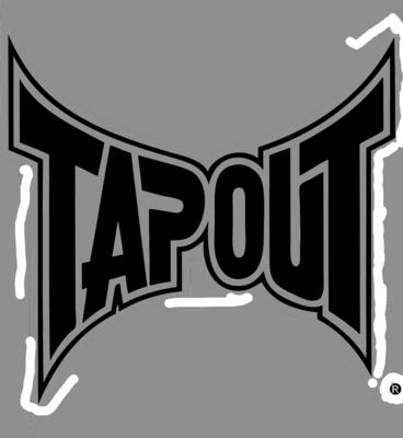 Tap Out Logo Black | PSD Detail
