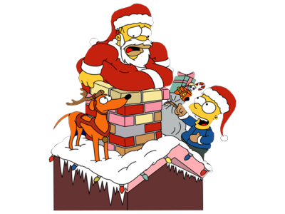 Merry Battleon Christmas! The-Simpsons-Christmas-psd72560