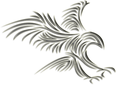tribal eagle design