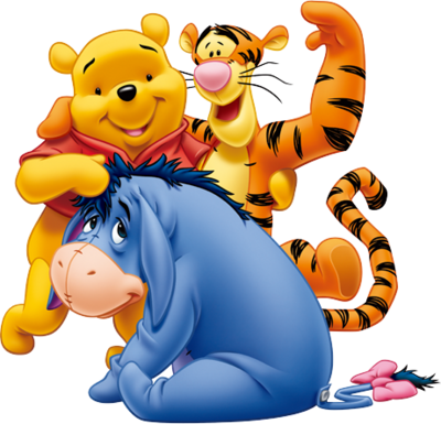 Winnie The Pooh And Friends | PSD Detail
