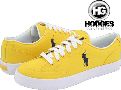 Yellow Polo Shoes | PSD Detail