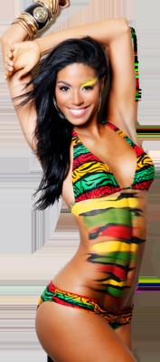 Pin Miss Jamaica Yendi Phillips on Pinterest