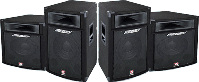 stage speakers png. black peavey stage speakers psd png t