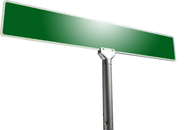 Blank Street Sign Png - ma