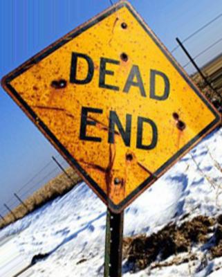 psd detail | dead end sign | official psds
