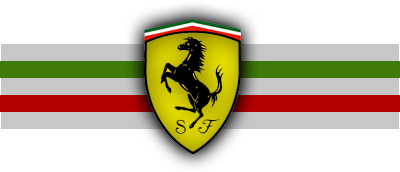 psd detail ferrari logo with flag official psds. Black Bedroom Furniture Sets. Home Design Ideas