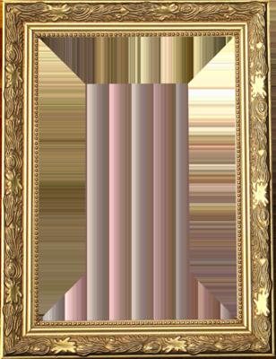 gold frame | PSD Detail