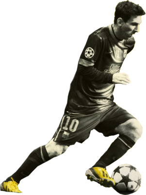���� ������ ���� ��� Renders messi-image-psd89593
