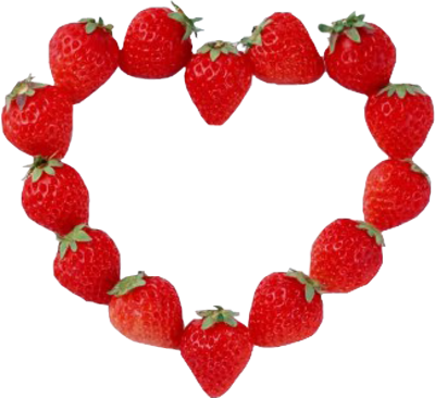Love Heart Pictures on Psd Detail   Strawberry Heart   Official Psds