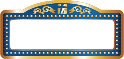 Image gallery theater sign for Theatre sign clipart