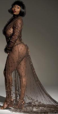 Plus Size Model Toccara Jones